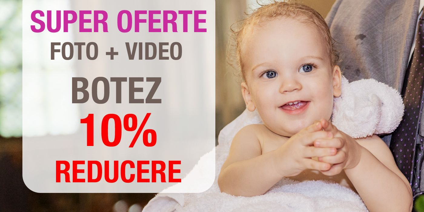 Oferta Foto Video Botez